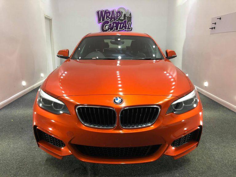 Fiery Orange BMW