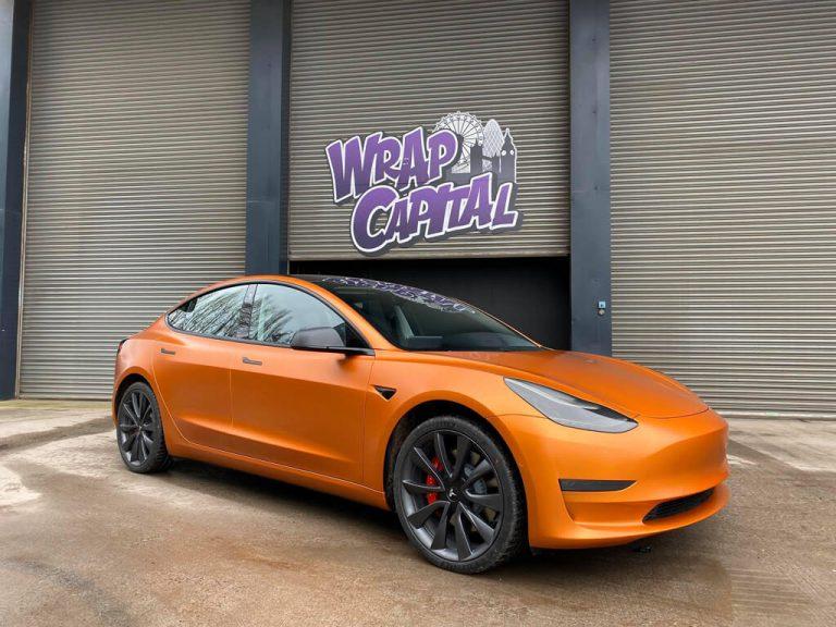 Tesla Model 3 Copper