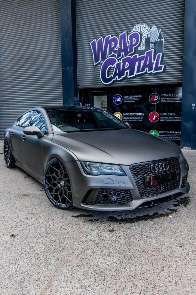 A7 Charcoal matt metallic