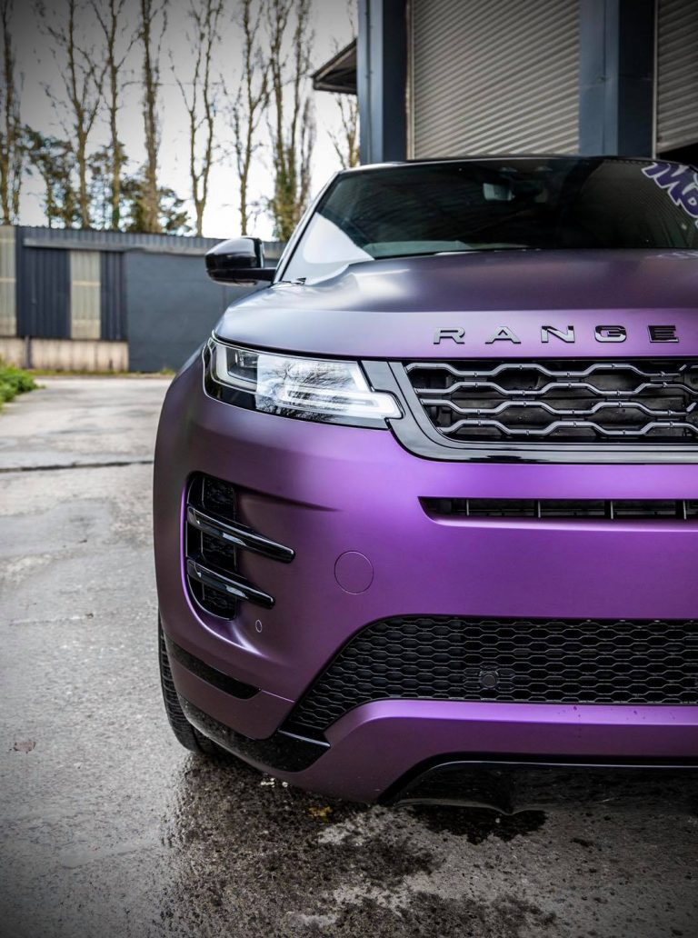 Range Rover Satin Purple