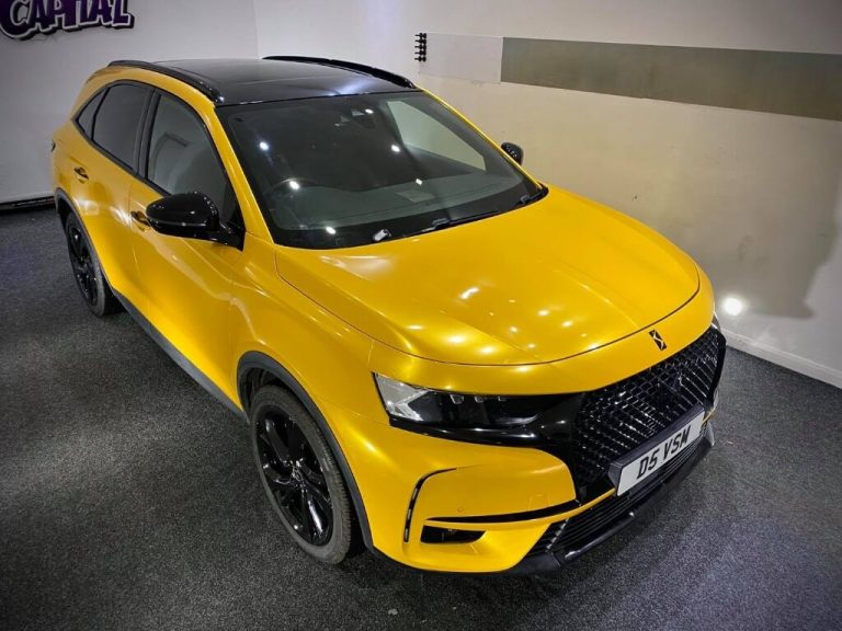 Saffron Yellow DS7