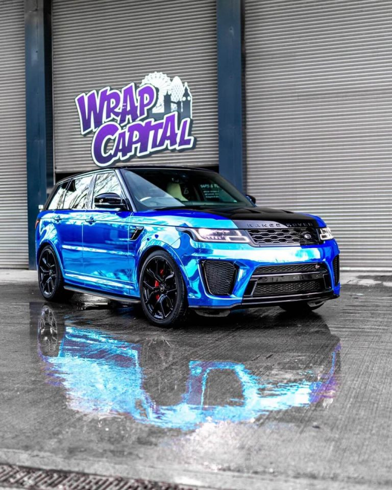 Chrome Blue SVR