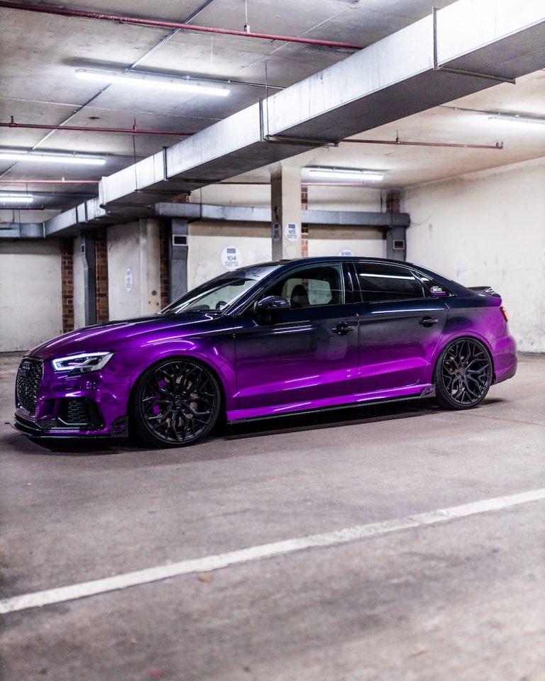 Purple chrome fade RS3