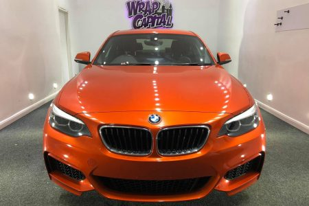 Fiery Orange BMW