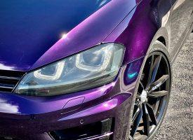 Custom Golf in Midnight Purple