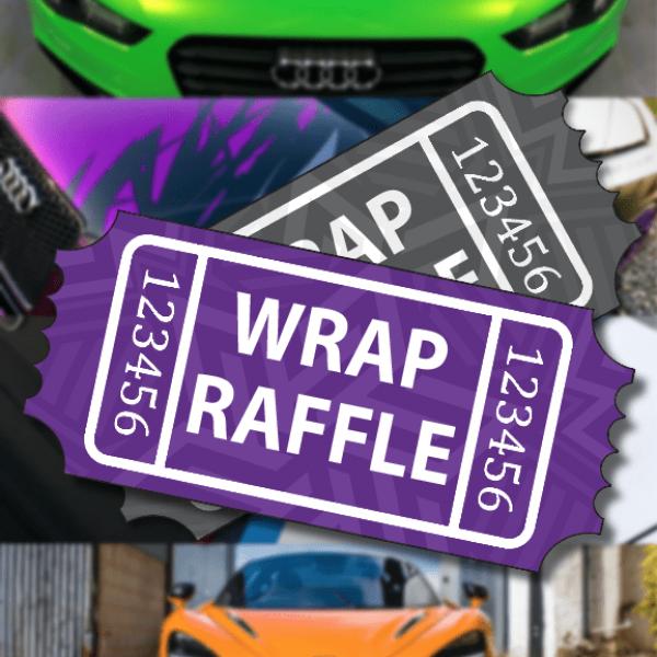 Wrap Raffle Ticket